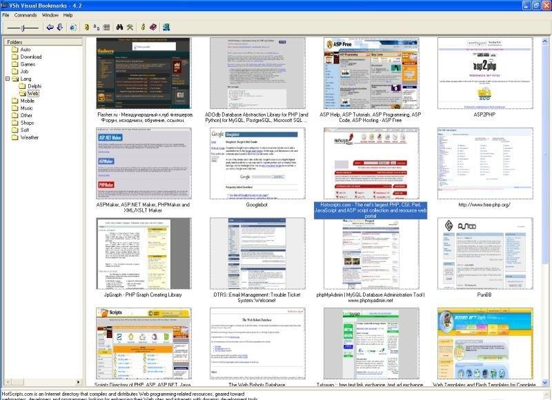 VSh Visual Bookmarks sites like retube