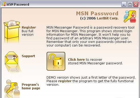 Lastbit MSN Password alexroot4 imgsrc password