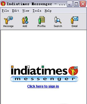 Indiatimes Messenger qeep messenger