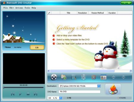 3herosoft DVD Creator 4.0.0.0126