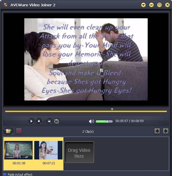 О программе. Скачать AVCWare Video Joiner бесплатно.