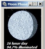 Moon Phase Calculator moon rise