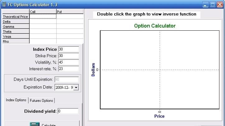 Best option price calculator