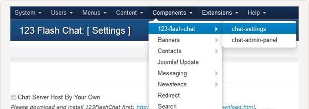 Joomla Chat Extension