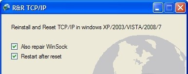 Reinstall/Reset TCPIP aim password reset