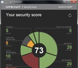 OPSWAT Security Score powered