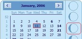 Desktop Lunar Calendar kalender 2014