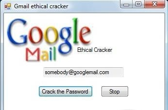 Gmail Password Cracker