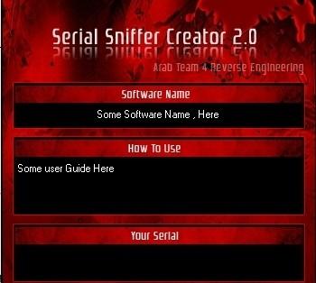 Serial Sniffer Creator serial corel draw