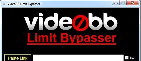 VideoBB Limit Bypasser