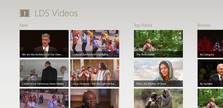 LDS Videos for Windows 8 free sx videos