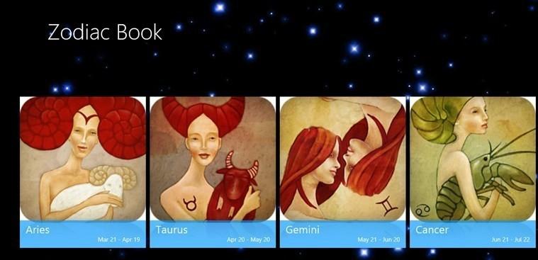 Zodiac Book for Windows 8