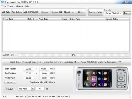 KingConvert For Nokia N95 softwere nokia 6630