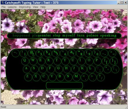 Catchysoft Typing Tutor typing software