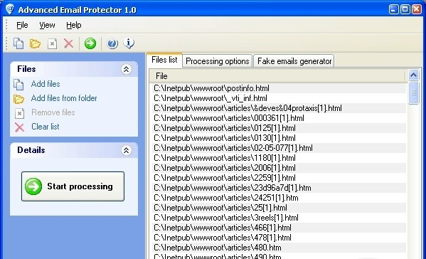 Advanced Email Protector javascript