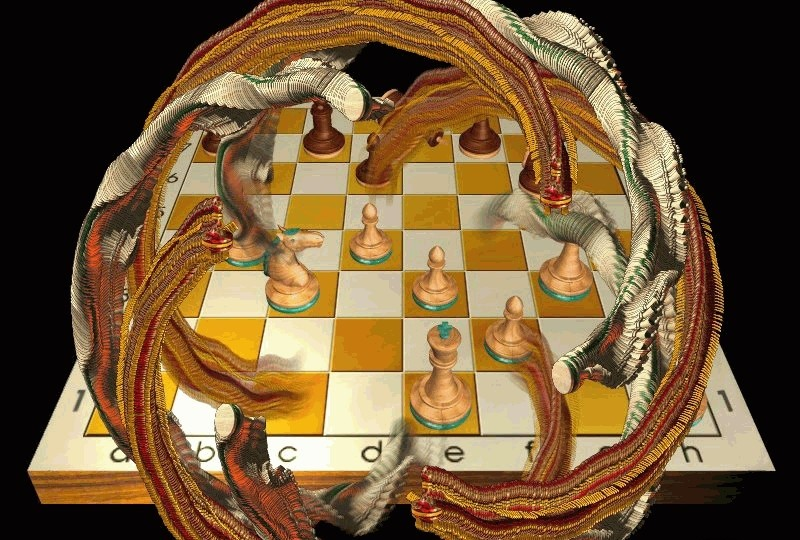 Chess Ballet Screensaver 3d chess screensaver
