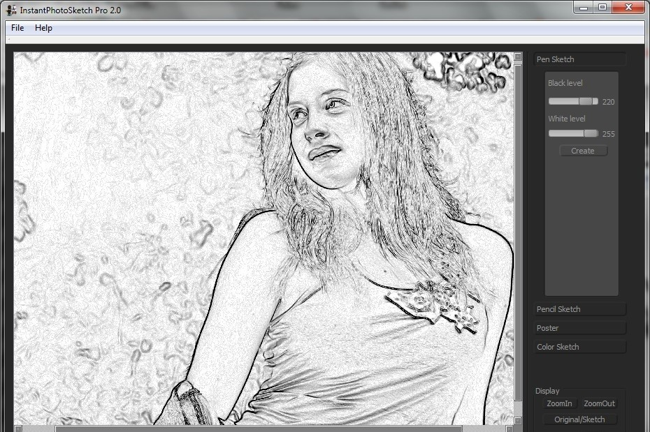InstantPhotoSketch Pro 2.2 5.7 MB Instant Photo Sketch Pro is a lightweight