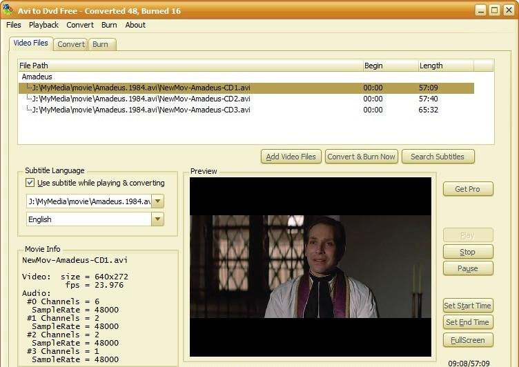 К популярным бесплатным конвертерам AVI в DVD относятся такие утилиты, как AVI