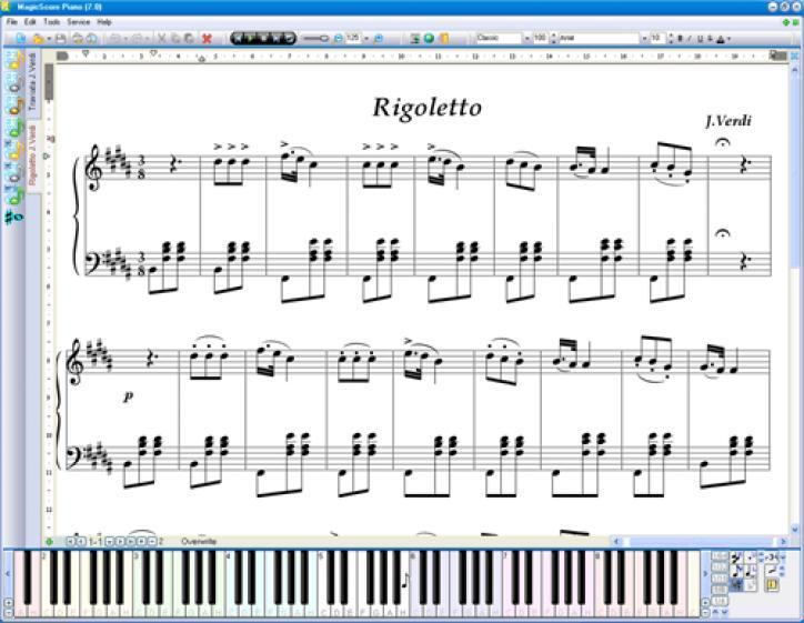 MagicScore Virtual Piano