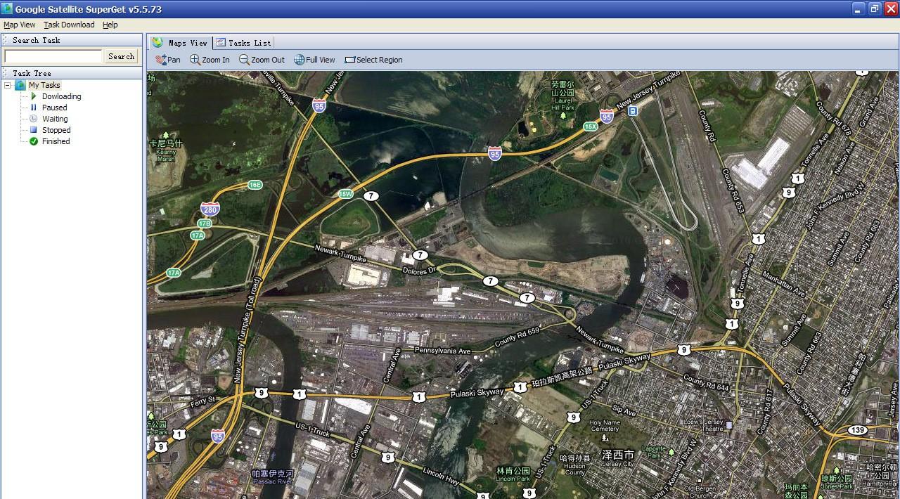 Google Map Superget