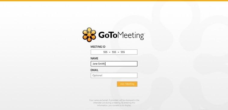 GoToMeeting for Windows 8