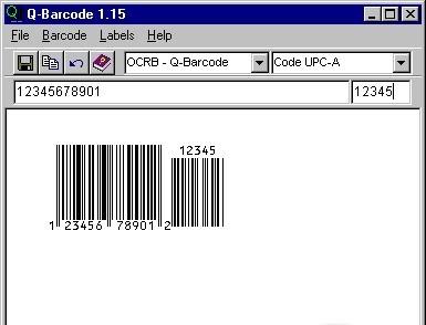 Q-Barcode Bar Code Creator zip code look