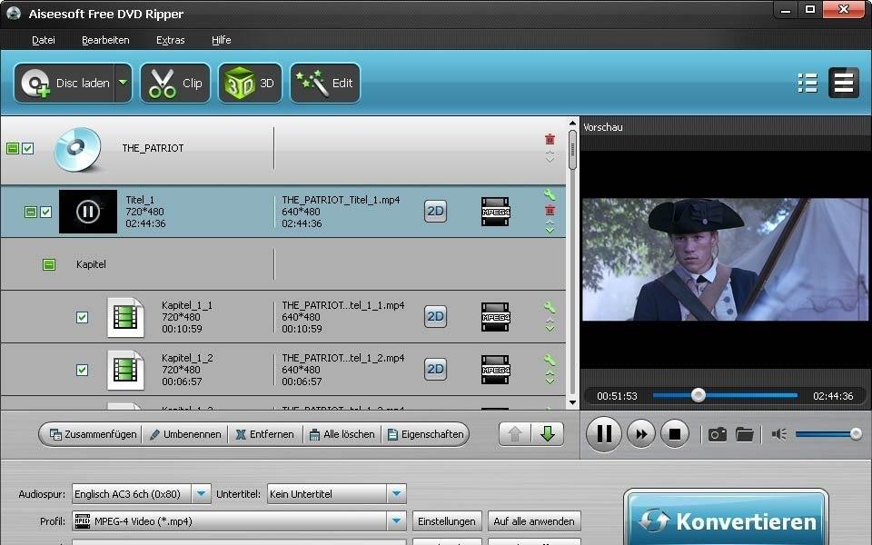 Aiseesoft Free DVD Ripper