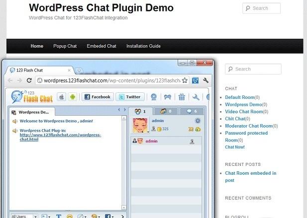Wordpress Chat Extension