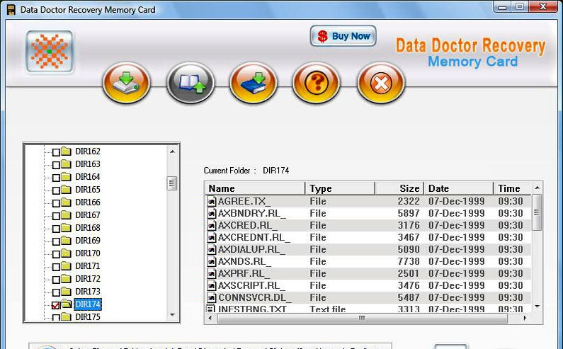Memory Card Data Recovery restoration