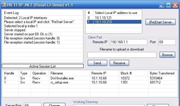 Library Net Tftp Windows Tftp Server Class Library