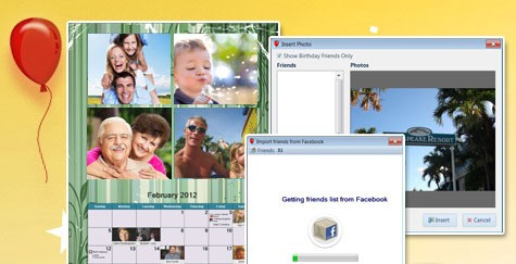 FB Birthday Calendar Maker