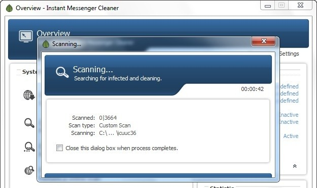 Instant Messenger Cleaner qeep messenger