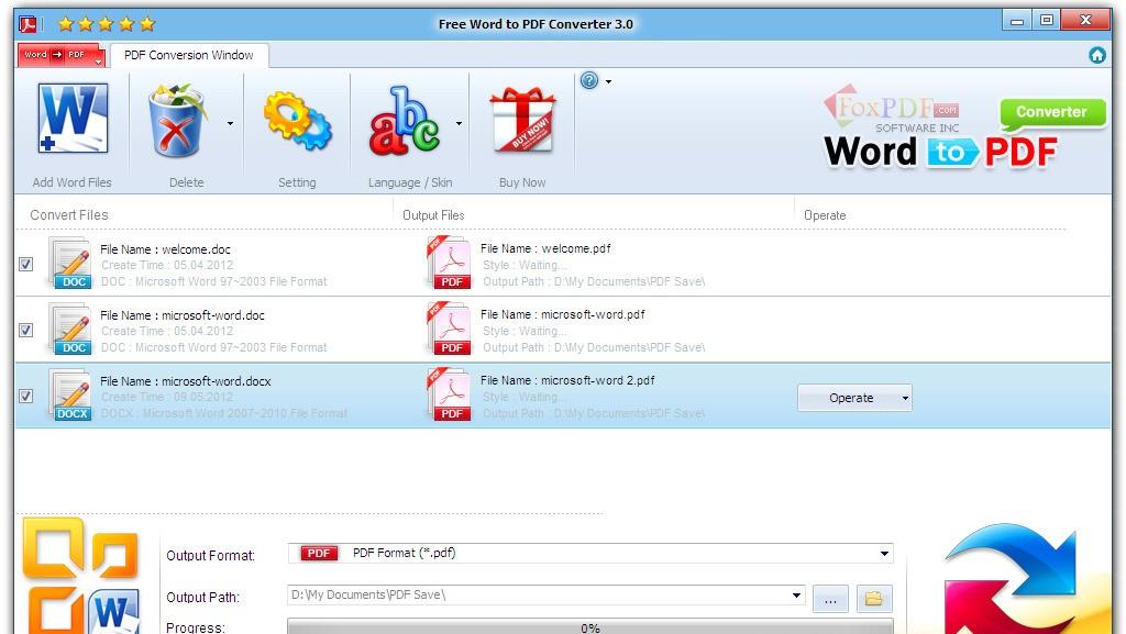 Word to PDF Converter – 100% Free