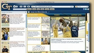 Georgia Tech Firefox Theme