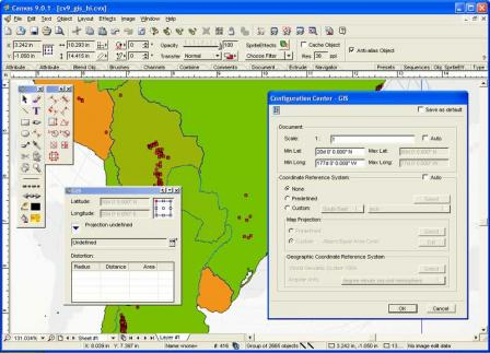 Canvas GIS Mapping Edition
