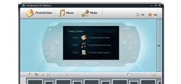 Wondershare PSP Slideshow photo slideshow maker