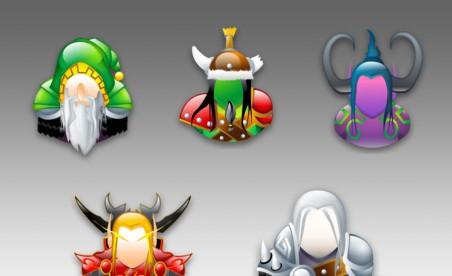 Warcraft Sigma Style Icons warcraft iii cursor