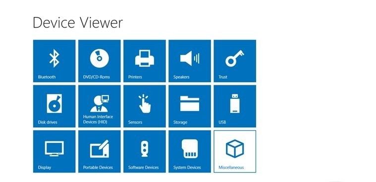 Device Viewer for Windows 8