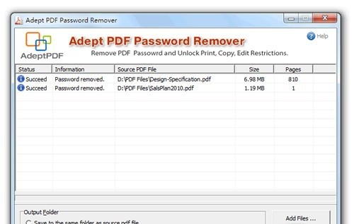 Adept PDF Password Remover - Remove PDF owner password and Print alexroot4 imgsrc password