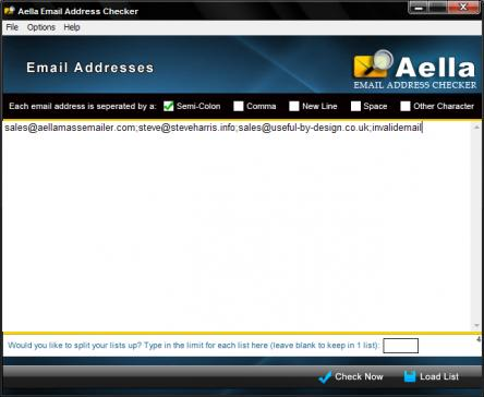 Aella Email Address Checker create email lists