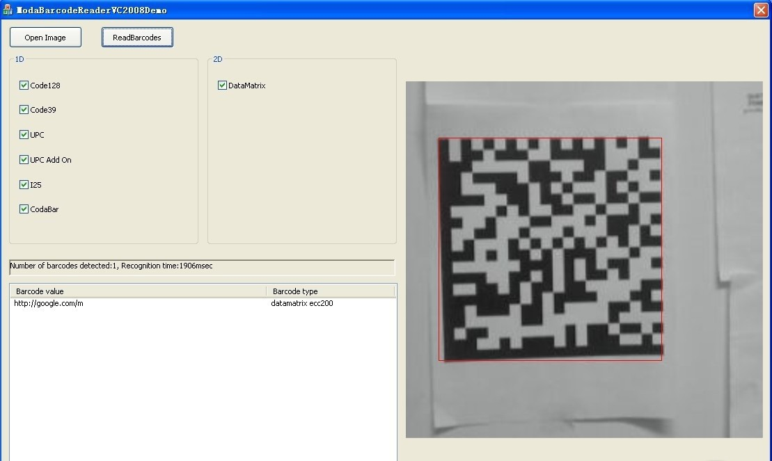 Viscom barcode reader sdk activex 5.13