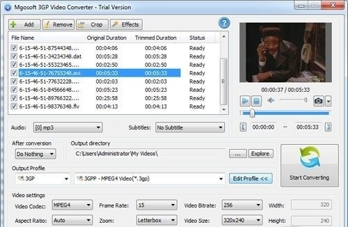 Mgosoft 3GP Video Converter