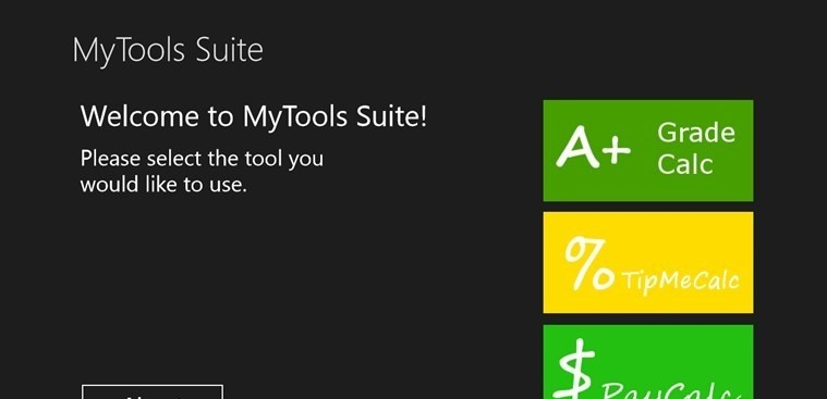 MyTools Suite for Windows 8