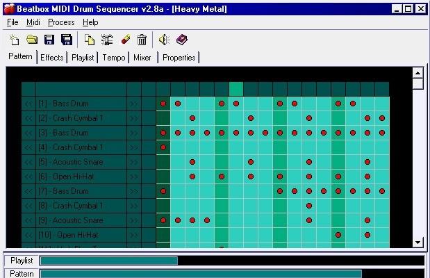 Beatbox MIDI Drum Sequencer sequencer