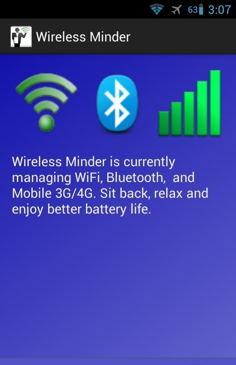 Wireless Minder for Android