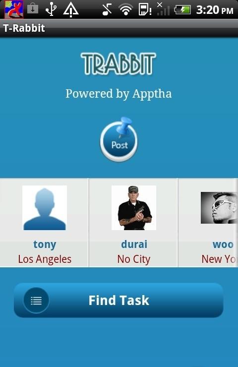 Mobile App for Trabbit Clone