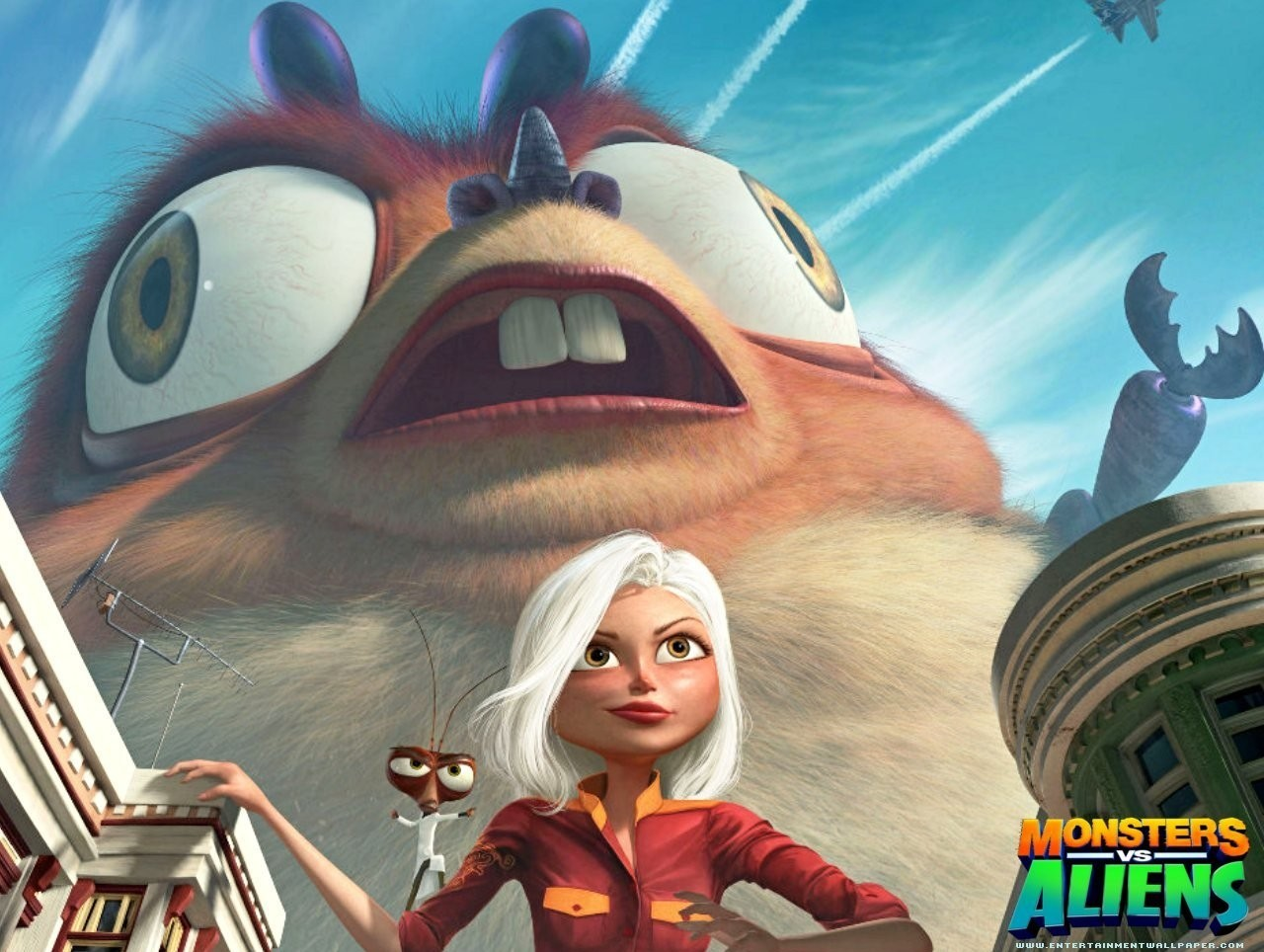 Monsters vs aliens full movie
