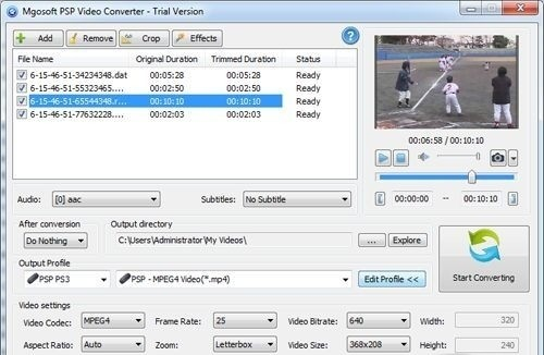 Mgosoft PSP Video Converter