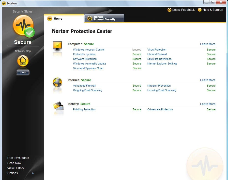 Norton Internet Security 2008 provides essential protection from.