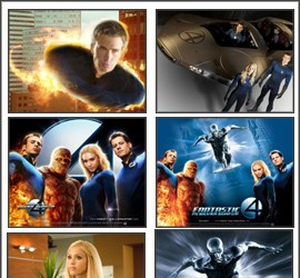 Fantastic Four 2 Screensaver fantastic
